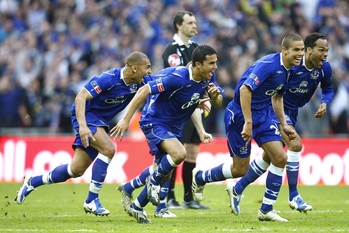 Soccer - FA Cup - Semi Final - Manchester United v Everton - Wembley Stadium