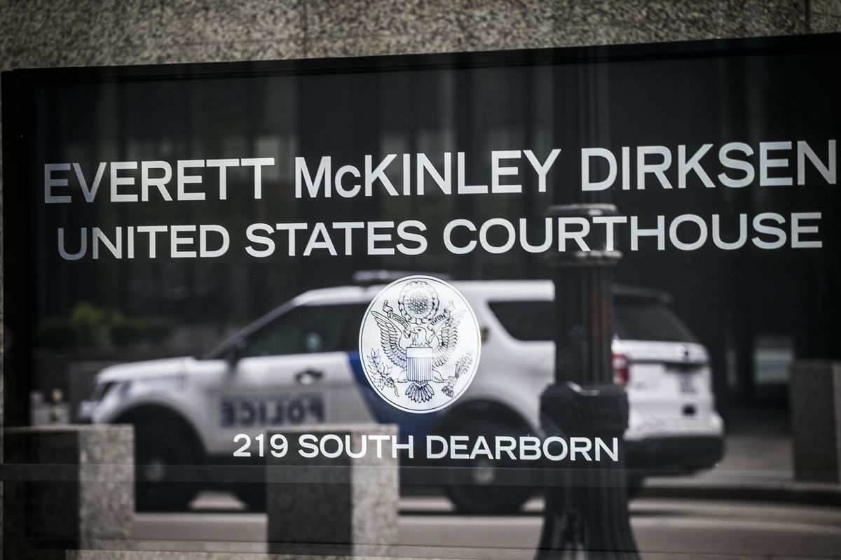 The Dirksen Federal Courthouse in downtown Chicago.
