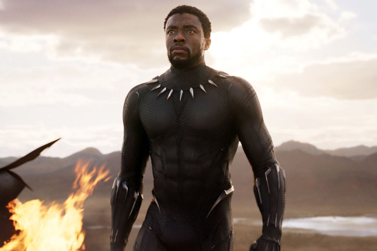 Chadwick Boseman plays the prince of the fictional African country of Wakanda in Black Panther