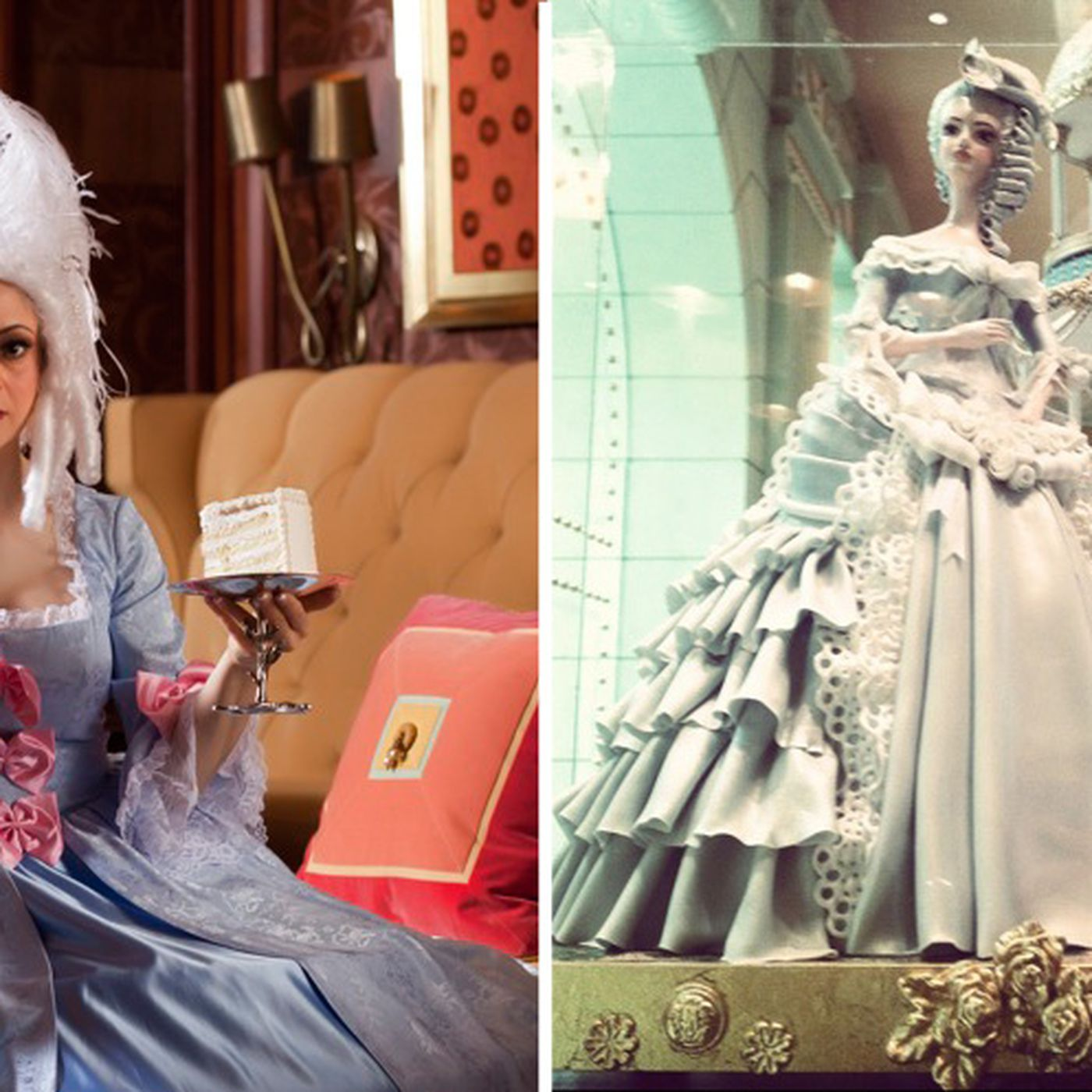 Let Them Eat Cake: Flora Aghababyan Channels Marie Antoinette and ...