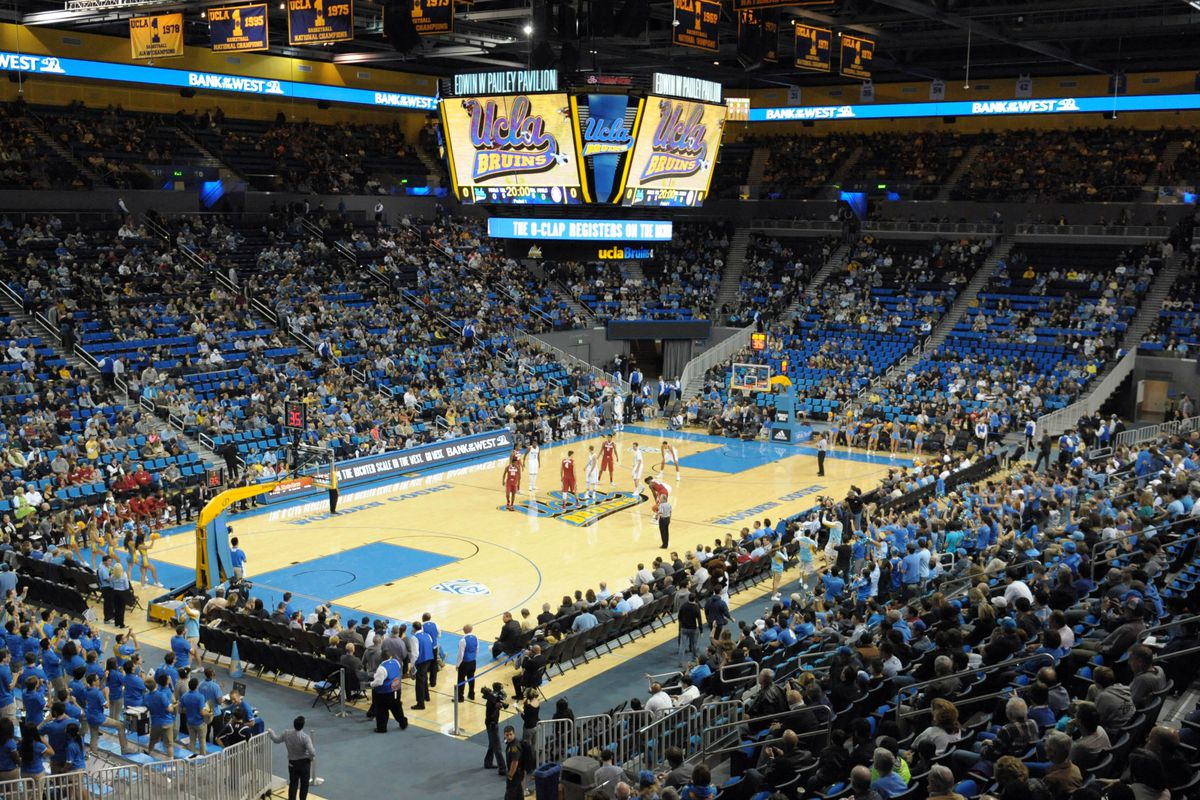 Nell and John Wooden Court at Pauley Pavilion