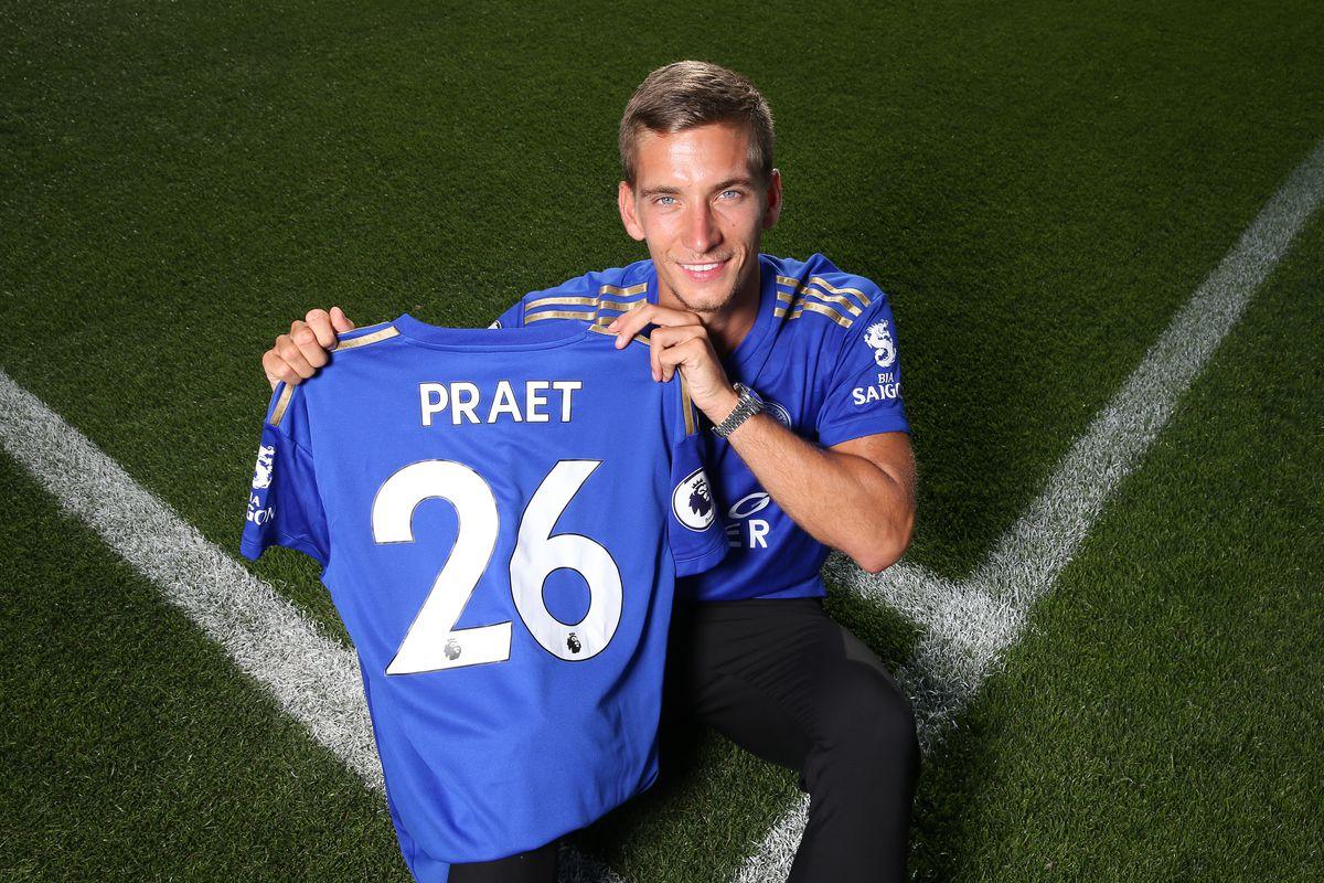Leicester City Unveil New Signing Dennis Praet