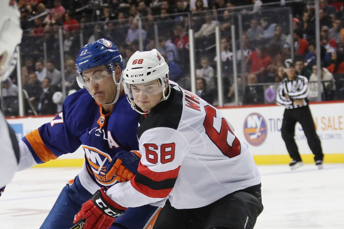 official photos 29a3b e6c66 New Jersey Devils at New York Islanders [Game 13 ...