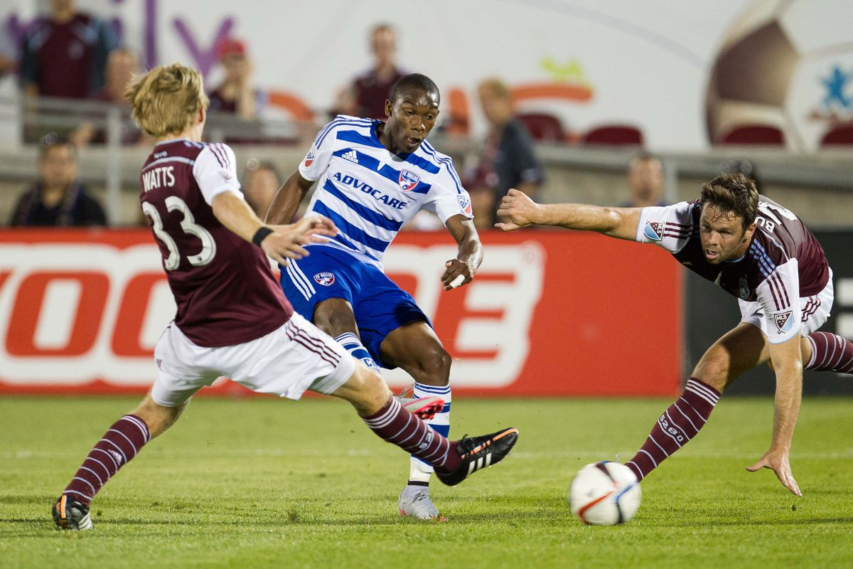 Best player on the field for FC Dallas by far