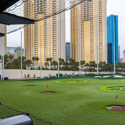 Topgolf second level view