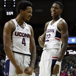 Queens College Knights vs UConn Men's Basketball