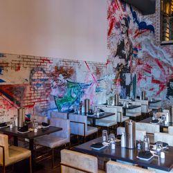 Sake Rok's main dining room