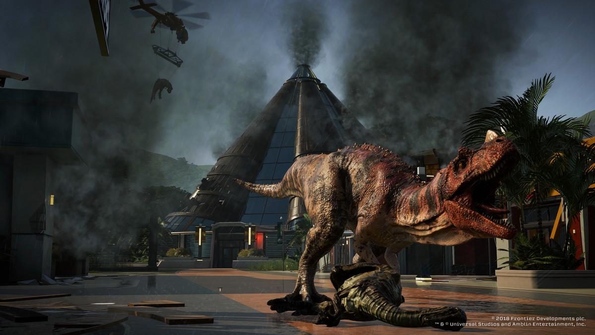 Jurassic World Evolution - T. rex