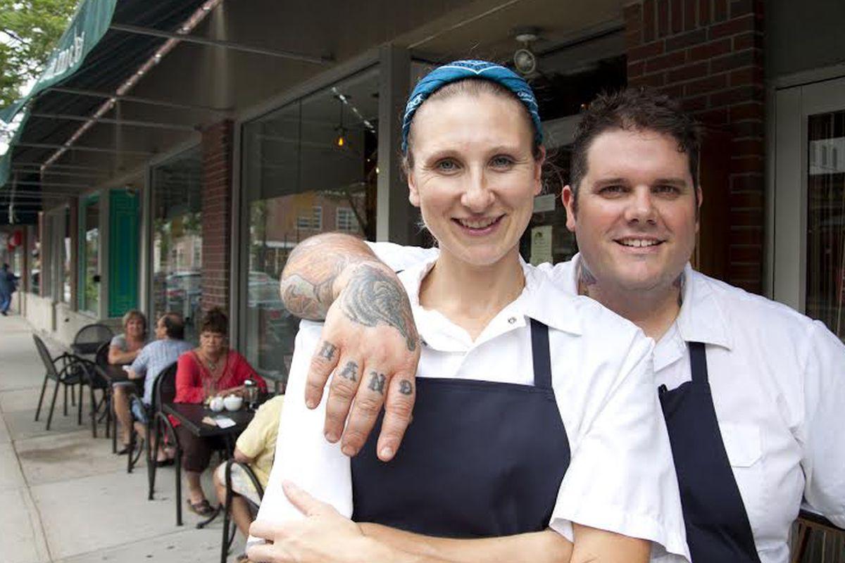 Kate and Matt Jennings
