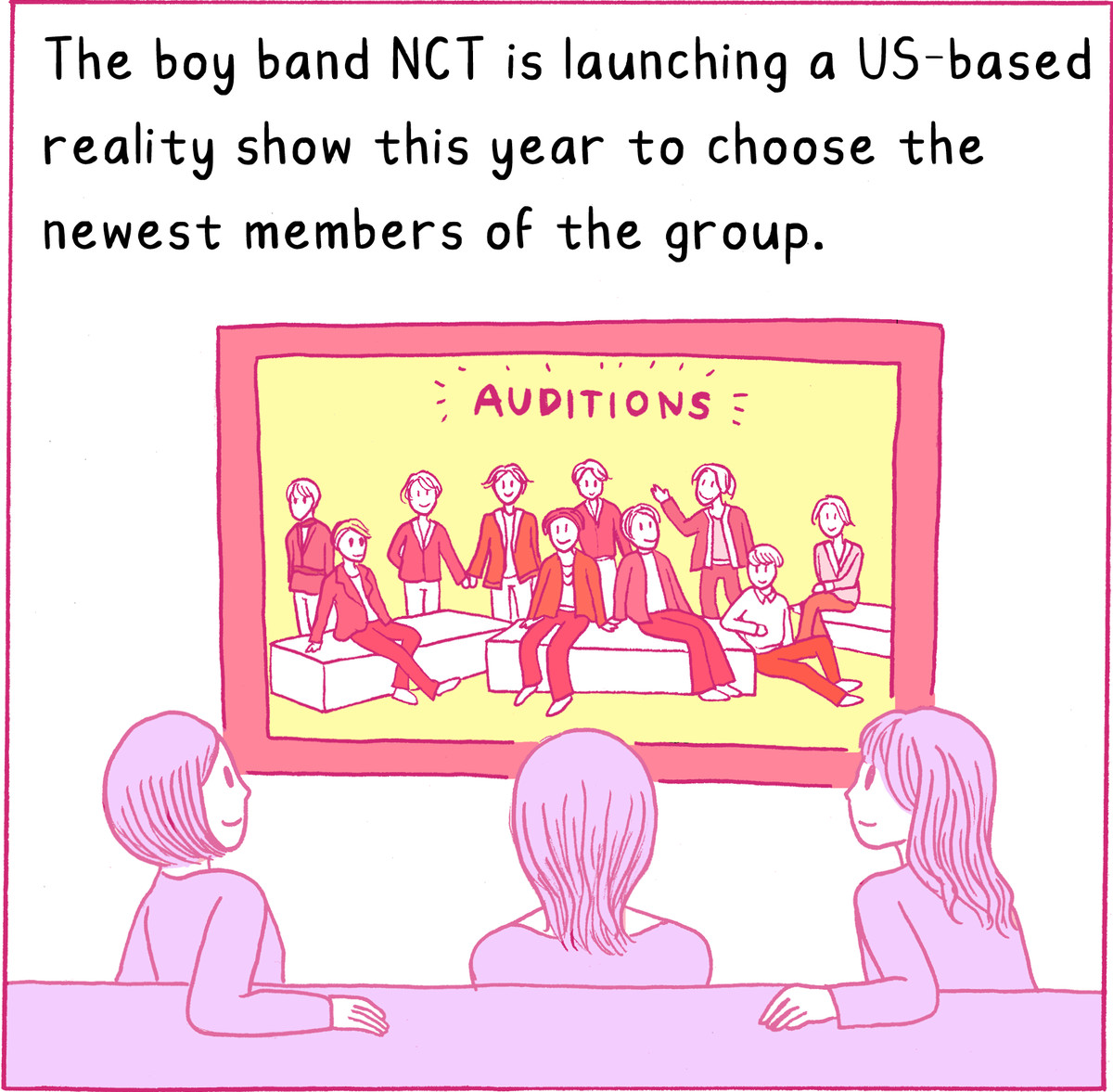 The boy band NCT is launching a US-based reality show to choose the newest members of their group.