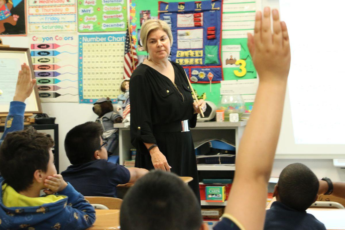 Lourdes Reyes, Newark's 2018 Teacher of the Year.
