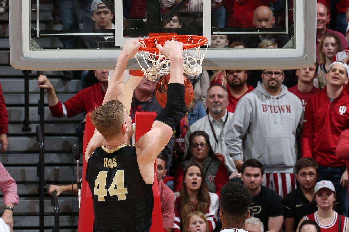 NCAA Basketball: Purdue at Indiana