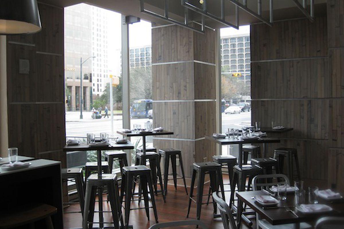Second Bar + Kitchen.
