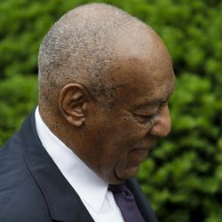 Bill Cosby arrives for his sexual assault trial at the Montgomery County Courthouse, Tuesday, June 6, 2017, in Norristown, Pa.