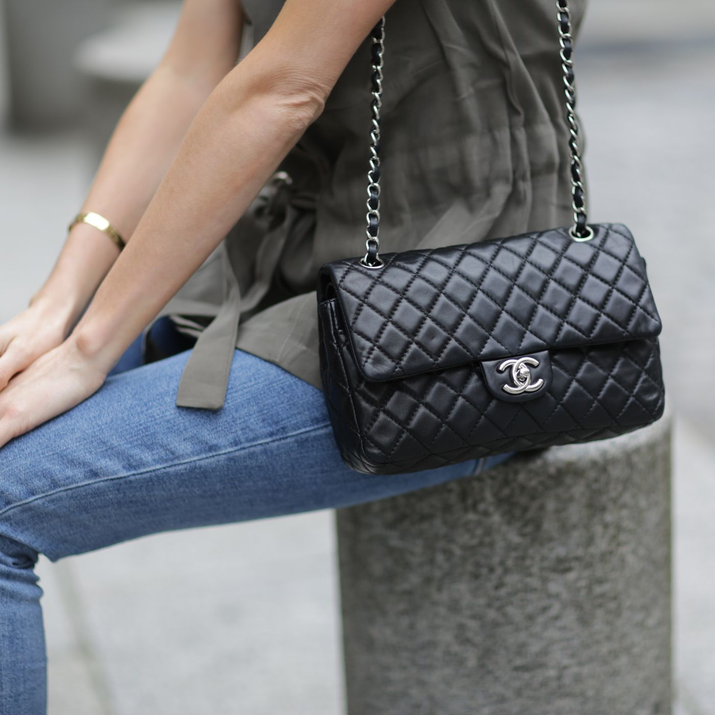 8ca73a5feced01 Chanel's Classic Flap Bag Increased In Value Over 70% in Past 6 Years -  Racked
