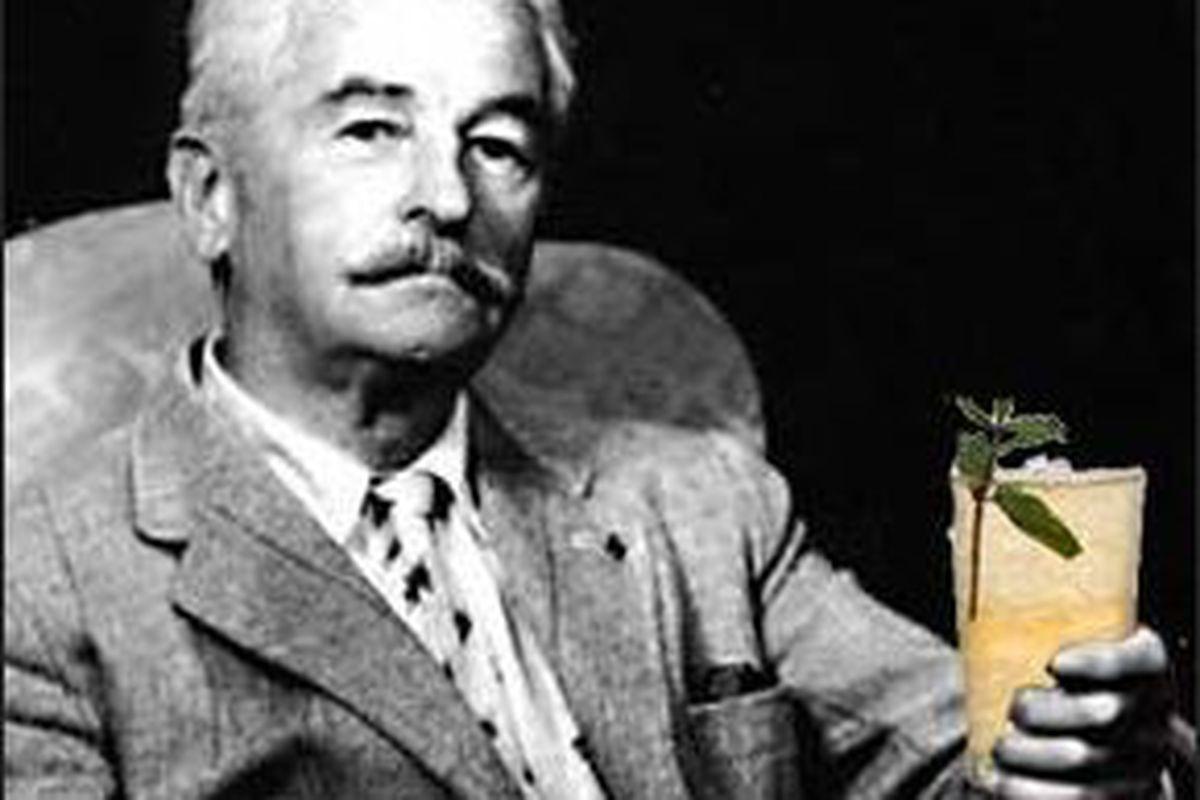 Faulkner.  He could drink.