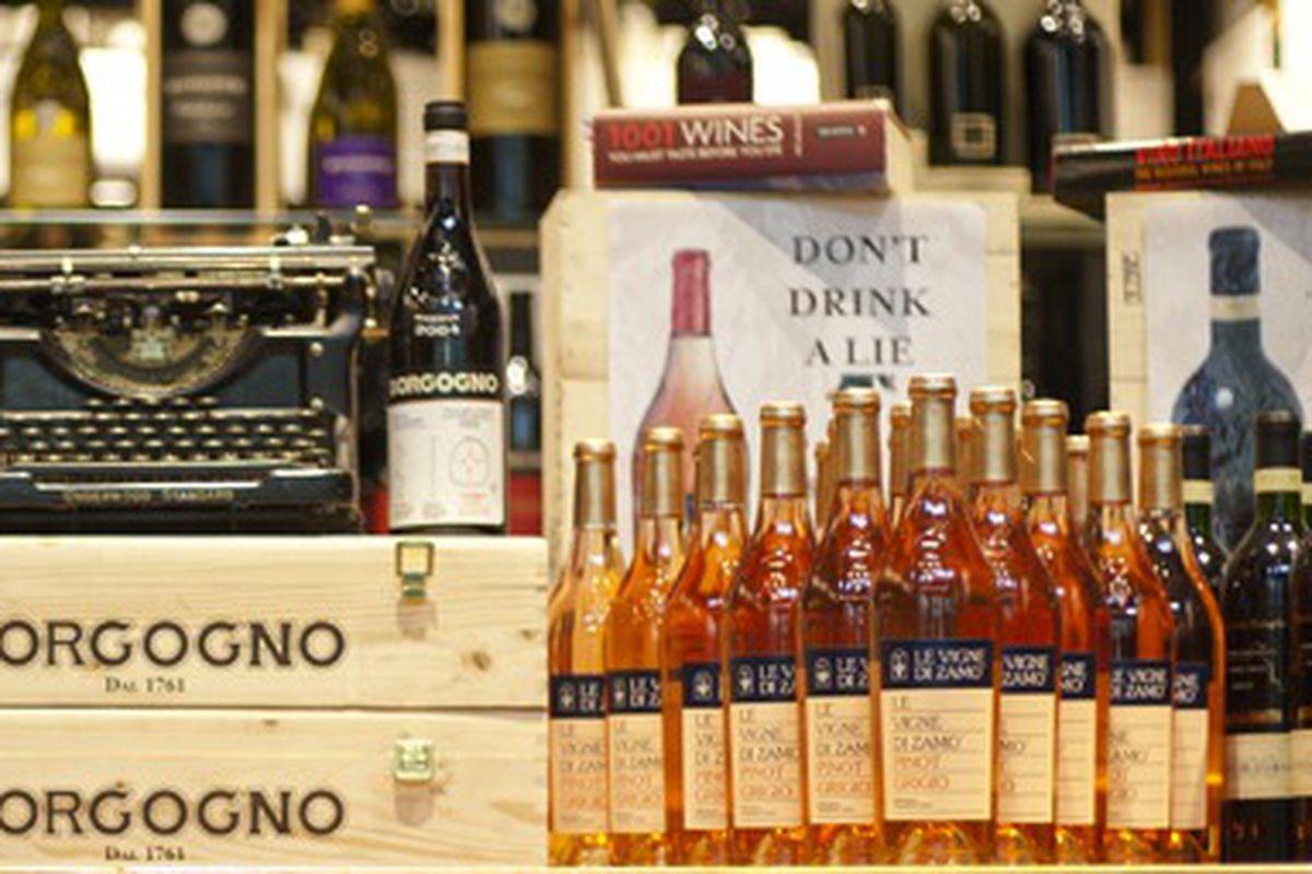 "Image via <a href=""http://www.eataly.com/nyc-wine-shop/"">Eataly</a>"
