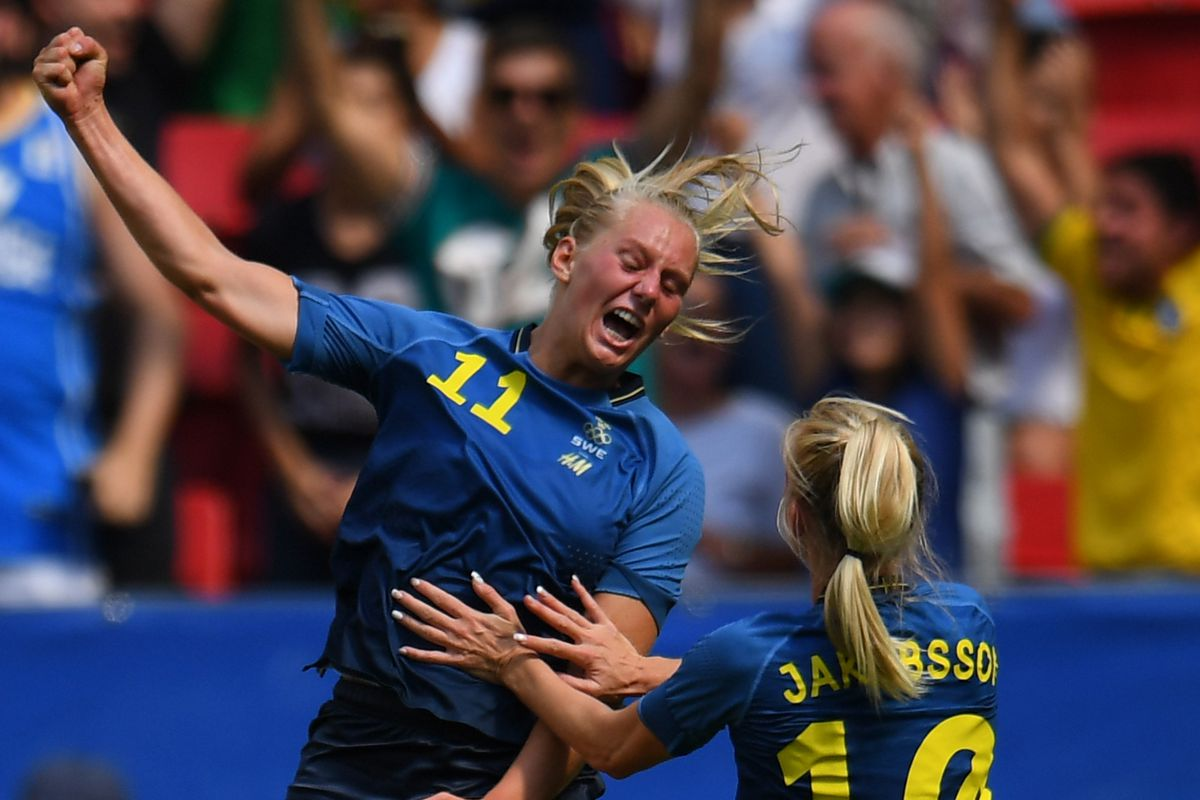 Watch from anywhere online and free. USA vs. Sweden 2016: Final score 1-1, USWNT eliminted from ...