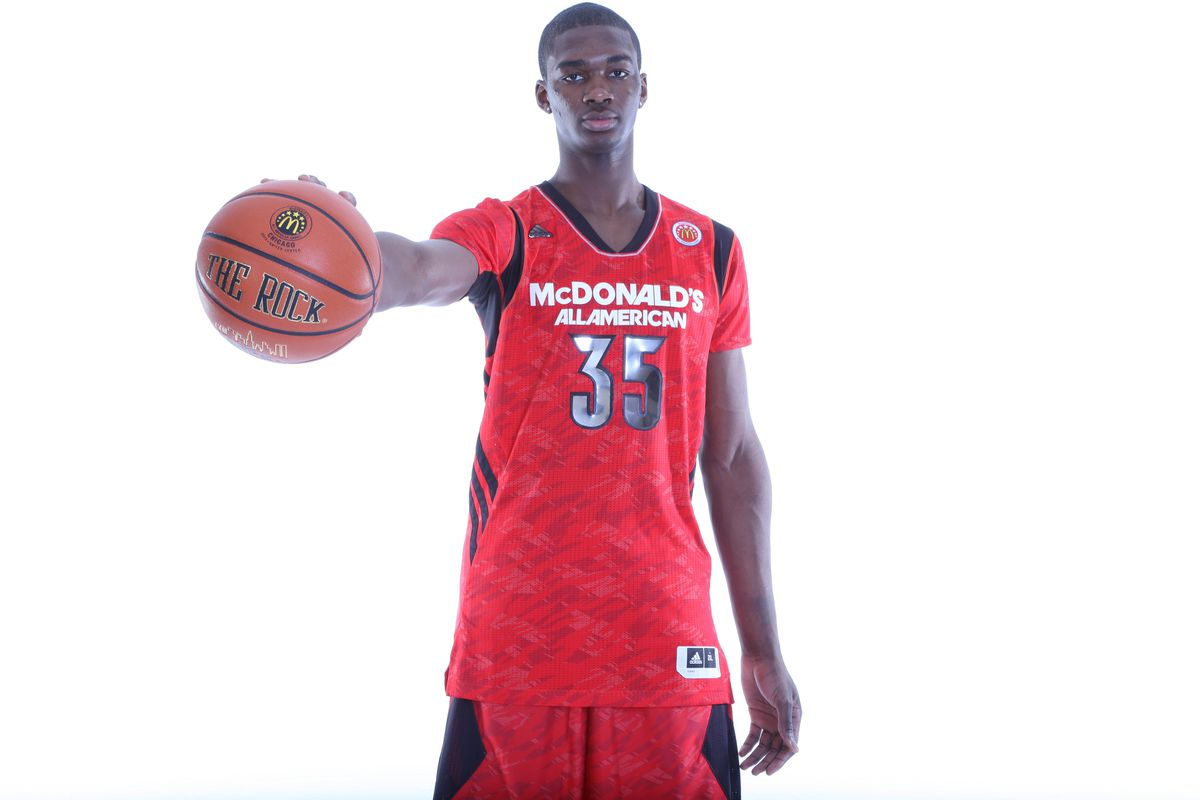 Noah Vonleh. The answer to Indiana's frontcourt questions?