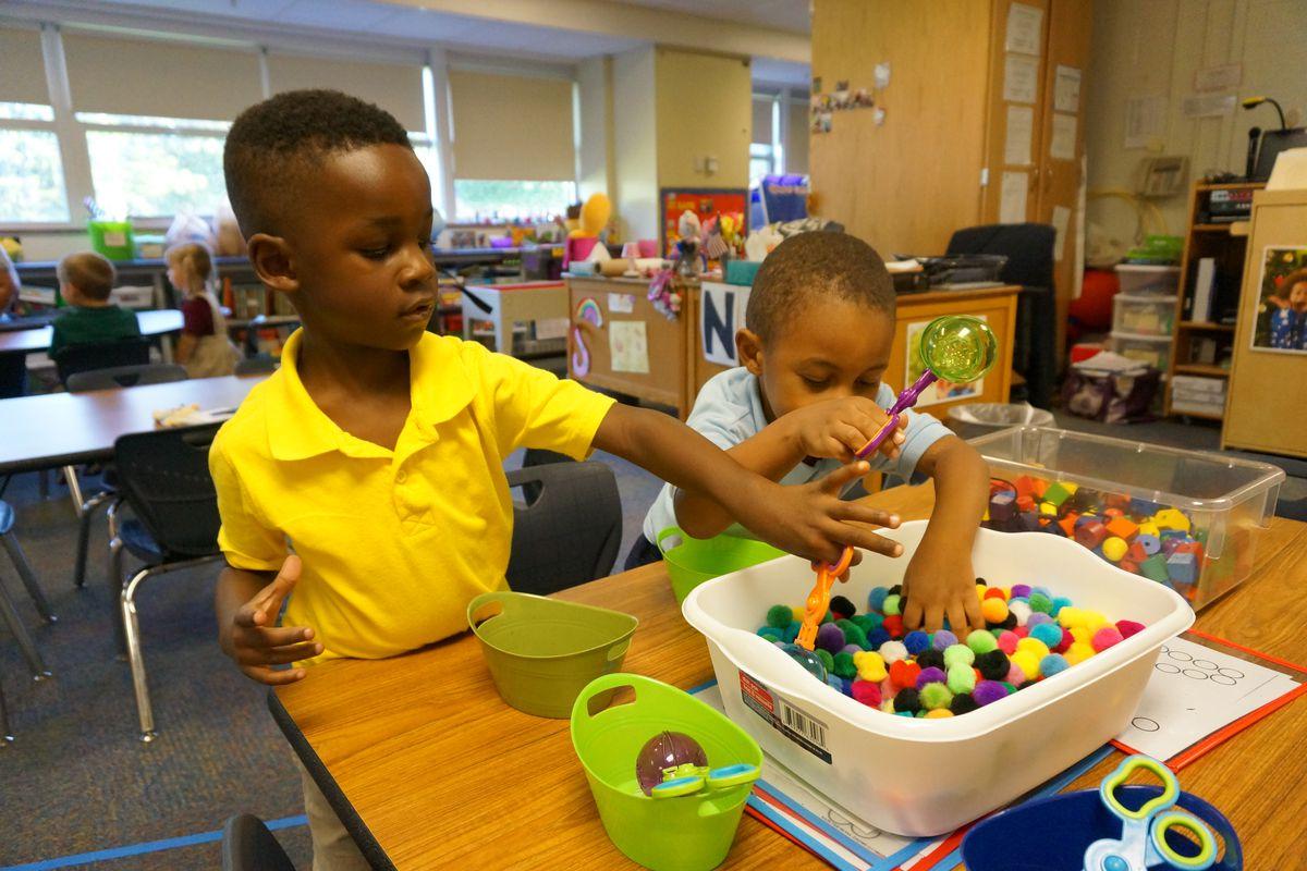 Preschoolers at School 55
