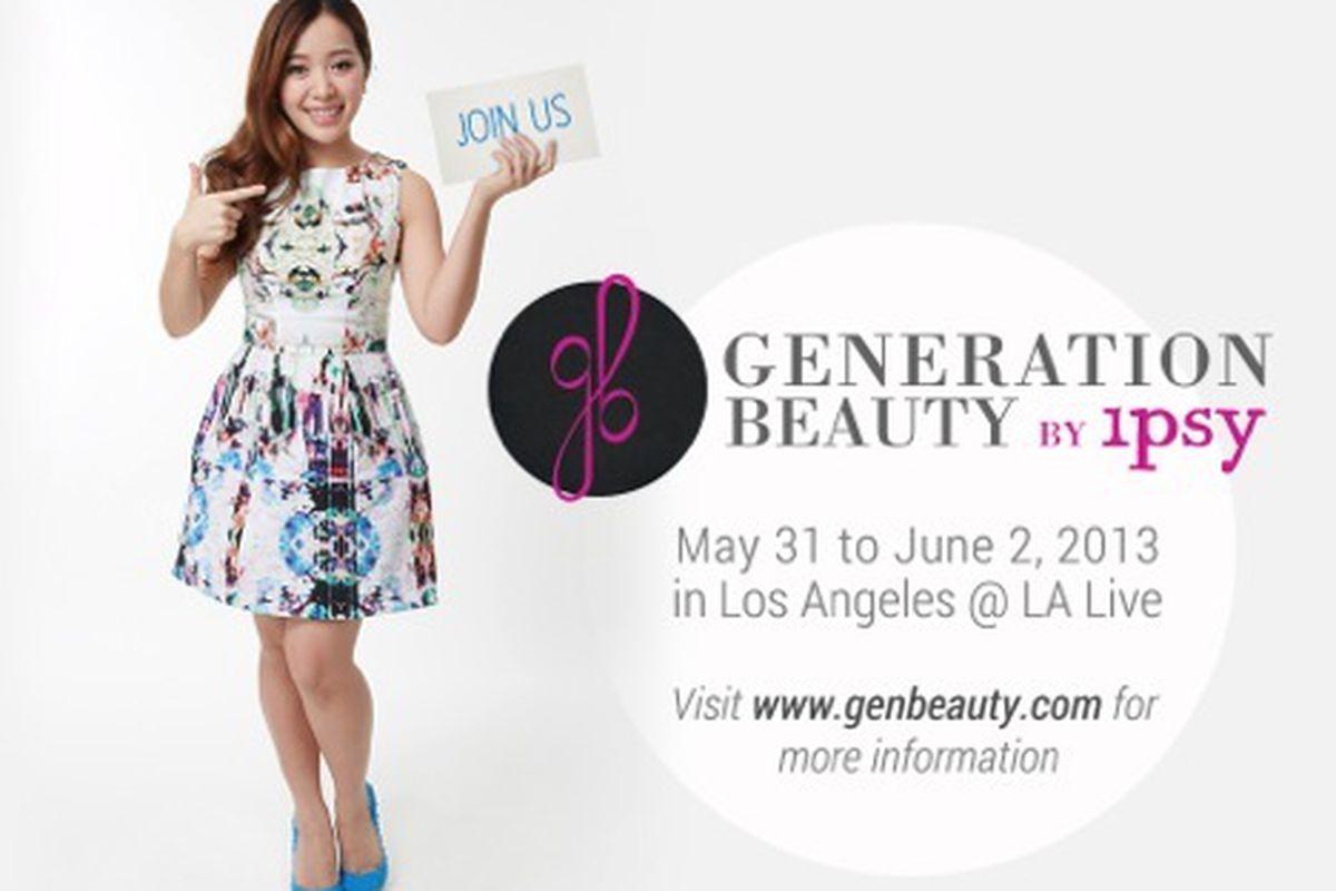 "Flyer via <a href=""http://michellephan.com/blog/post/generation-beauty"">Michelle Phan</a>"