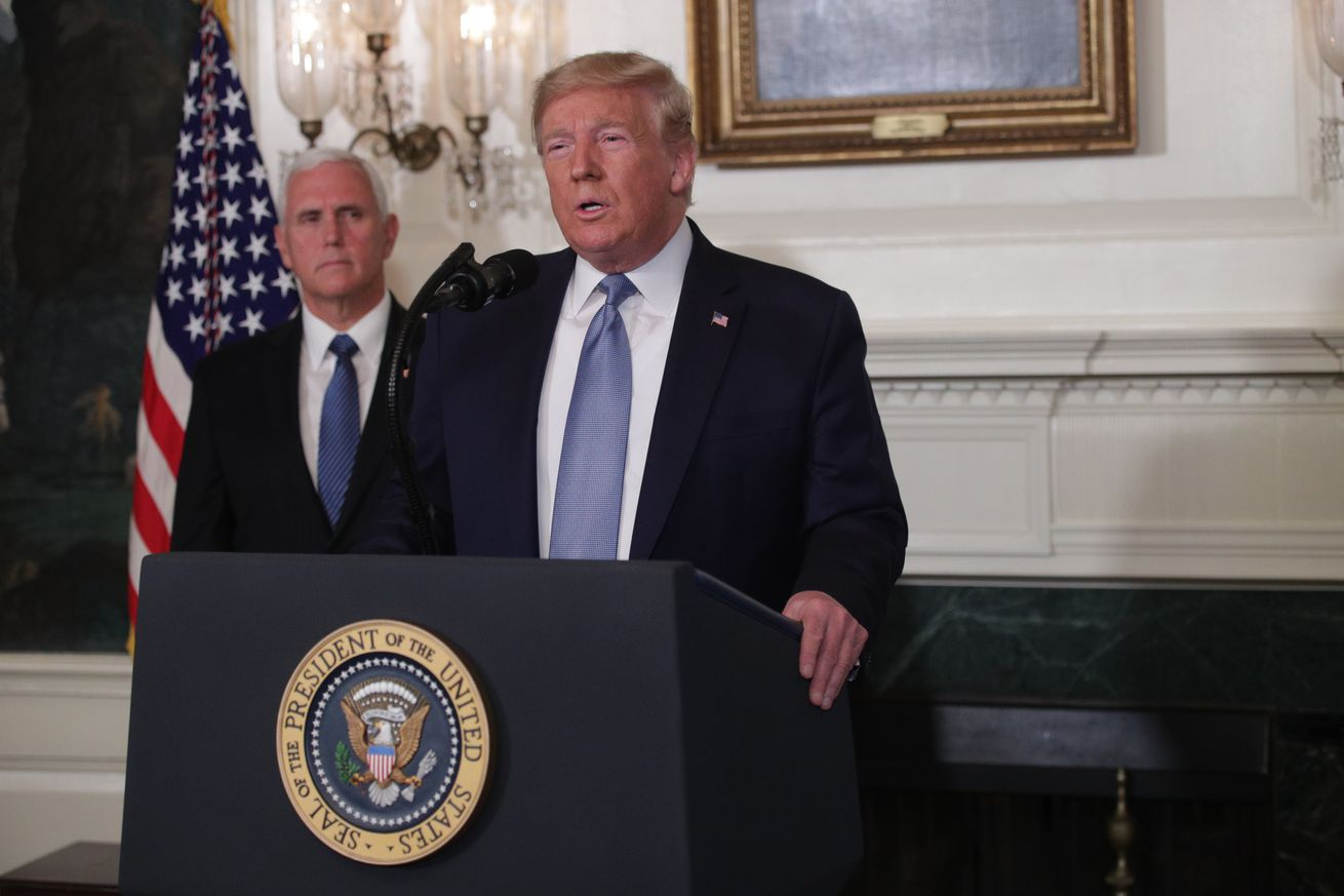 President Trump Delivers Remarks On The Weekend's Mass Shootings