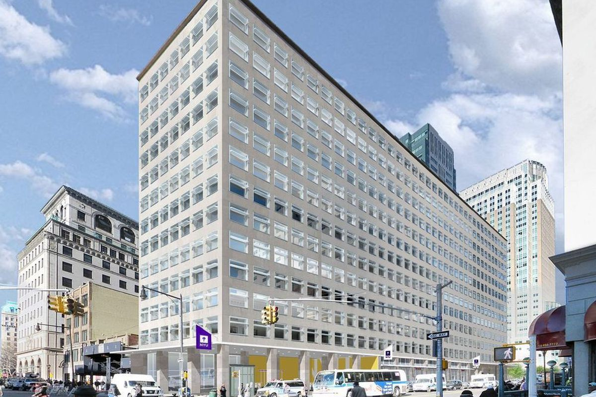 NYU's $500M Downtown Brooklyn expansion will open this