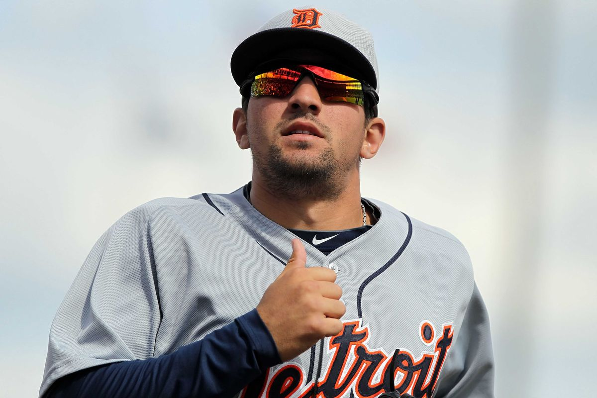 Nick Castellanos homered in game two of Toledo's doubleheader.