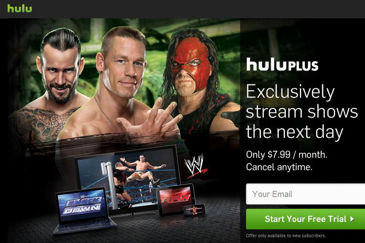 More details on WWE's partnership with Hulu Plus - Cageside Seats
