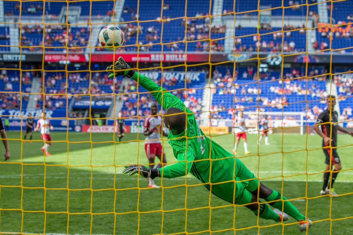Bill Hamid will need to make more saves like this going forward for DCU.