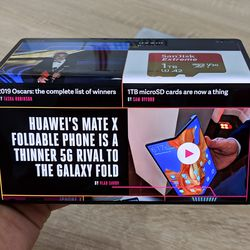 Huawei Mate X hands-on: our foldable future - The Verge