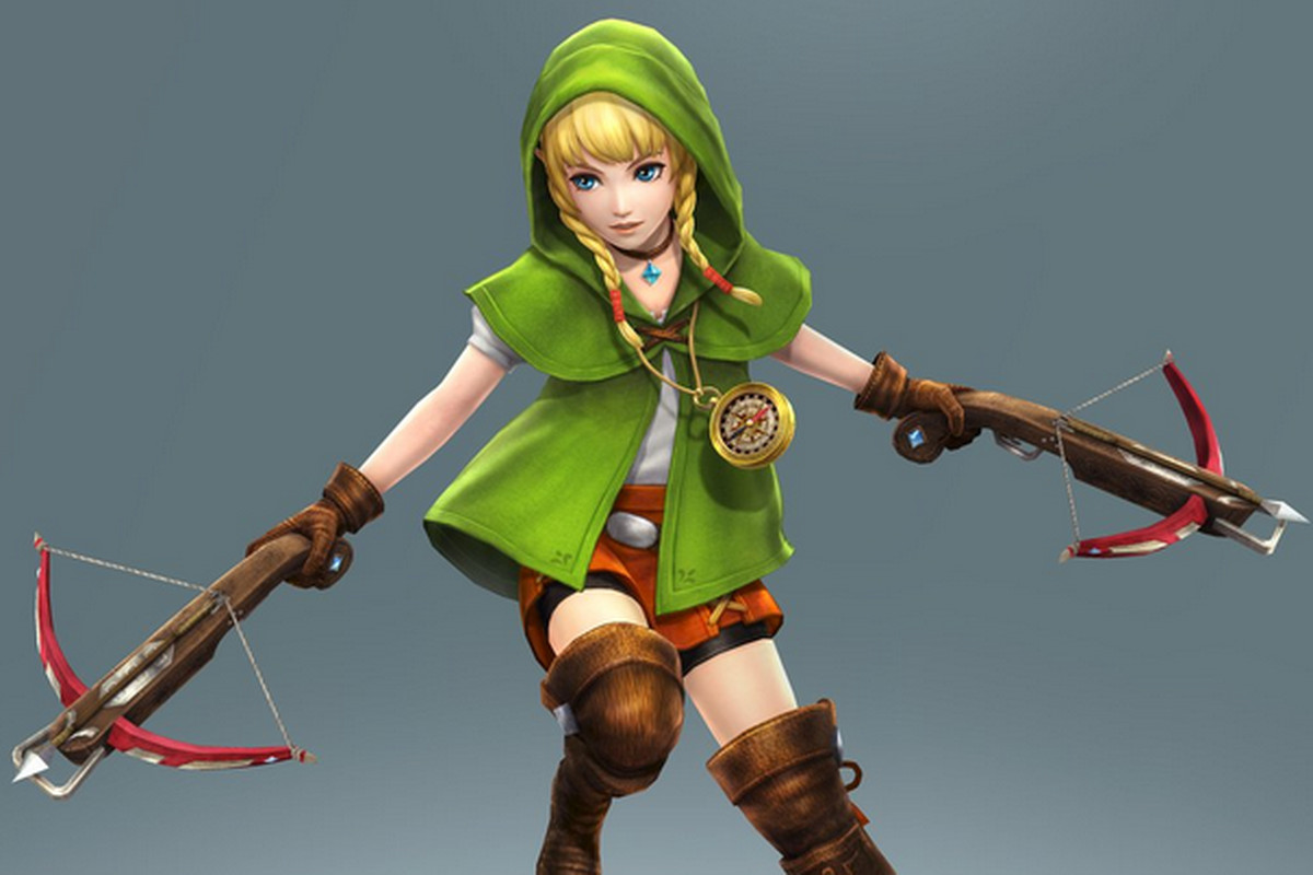 meet the new female link from the legend of zelda the verge