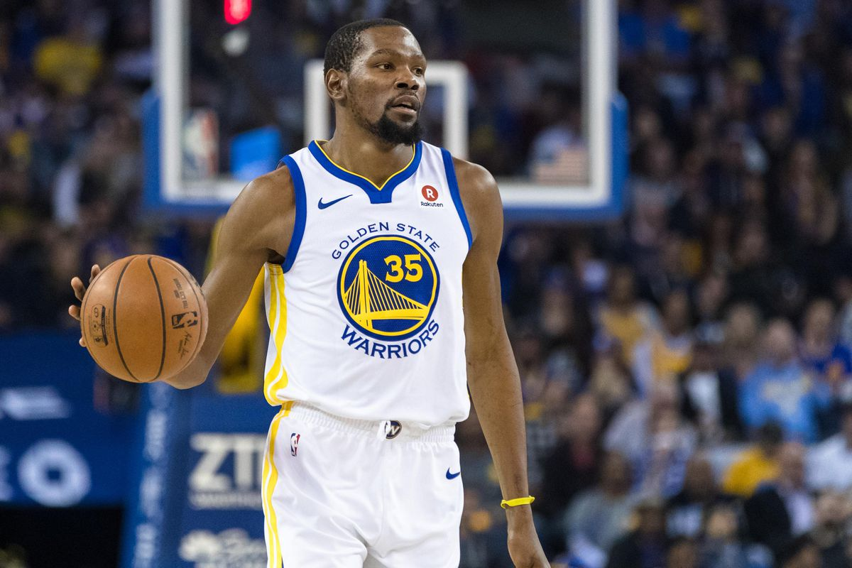 4cda877eda4 Kevin Durant must figure out how to run the offense himself - Golden ...