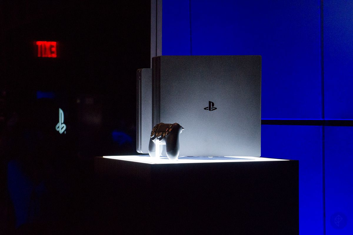 PlayStation 4 Pro reveal event - PS4 Pro, Slim, DualShock 4