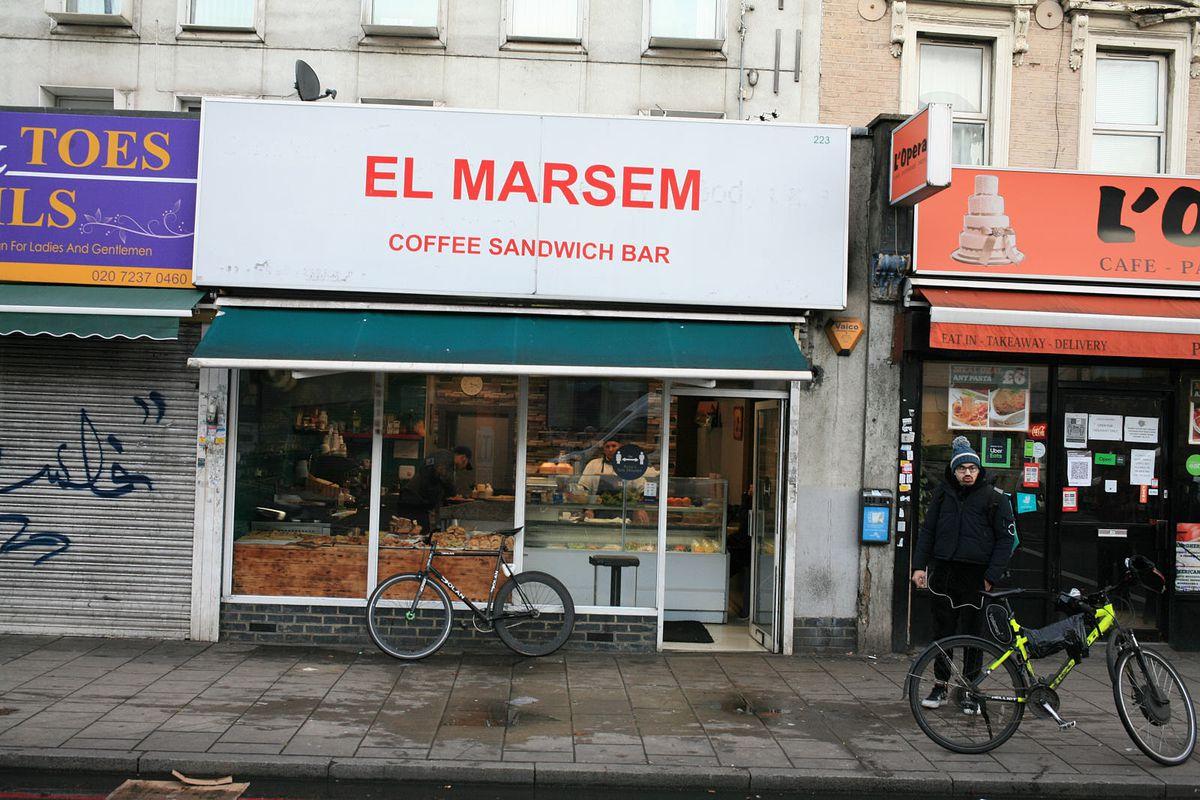 El Marsem on the Old Kent Road open during the coronavirus lockdown