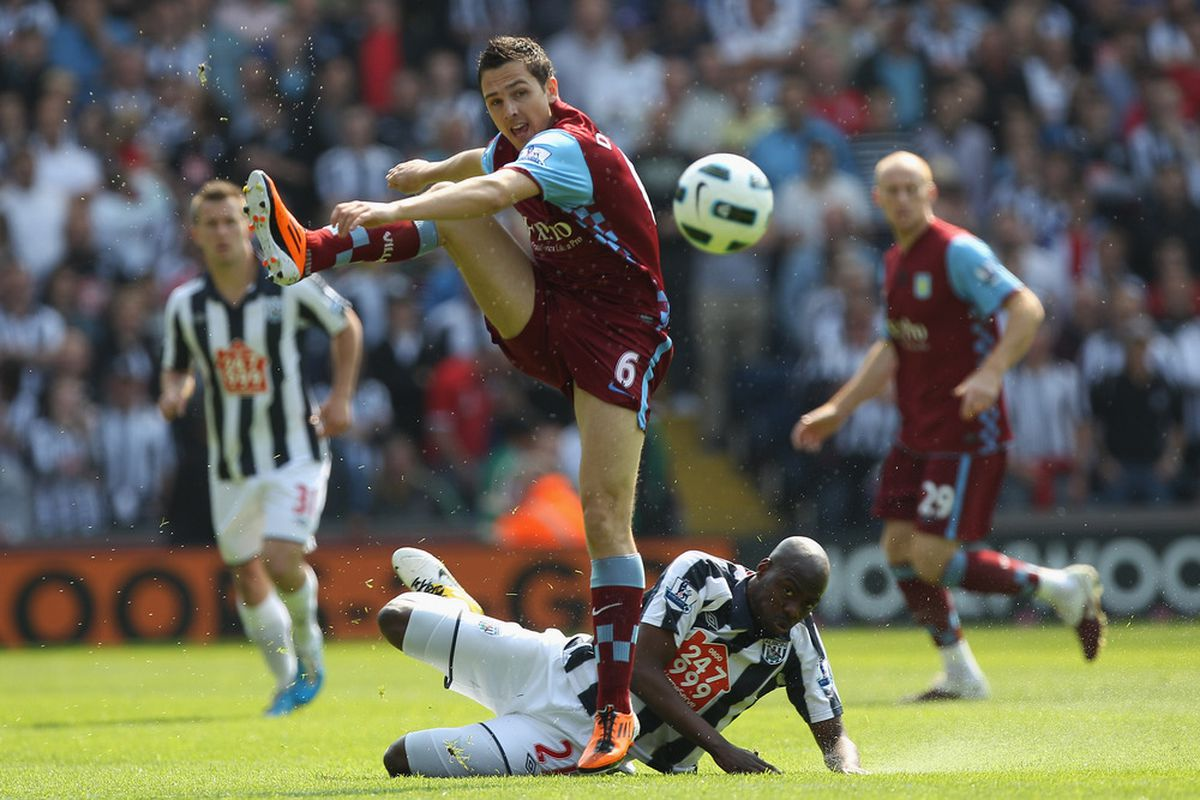 If Stewart Downing's move to Liverpool doesn't work out, there's always Broadway. (Photo by Michael Steele/Getty Images)