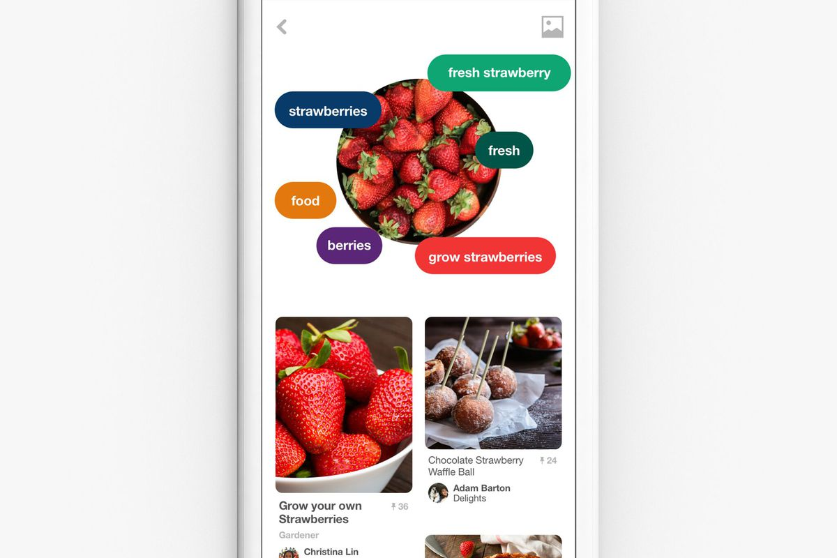 pinterest launches that u0027shazam for food u0027 feature from hbo u0027s