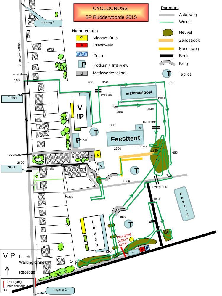 Map Ruddervoorde