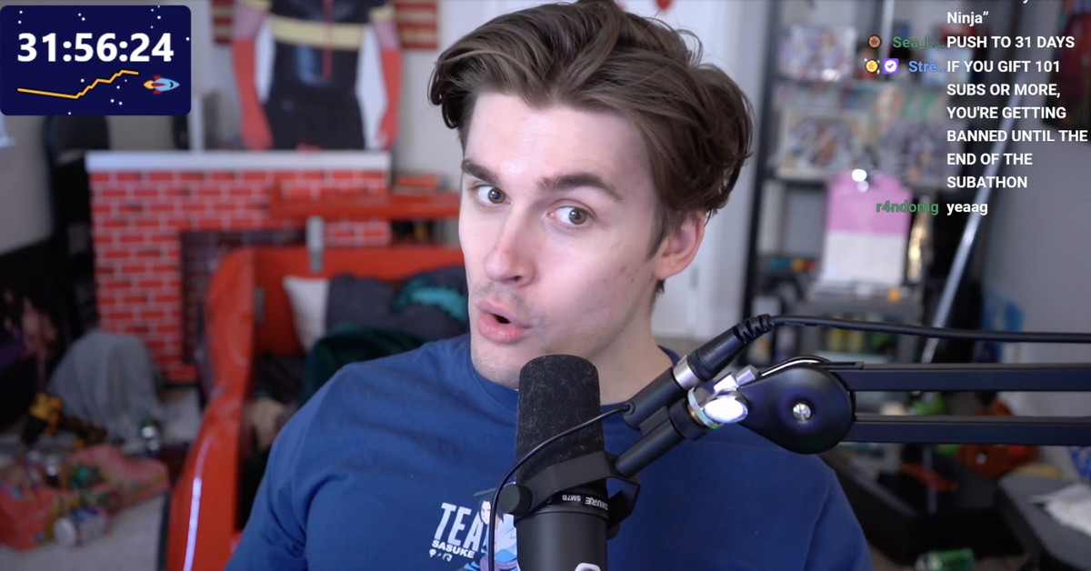 <p>A top Twitch streamer has been live for nearly two weeks straight thumbnail