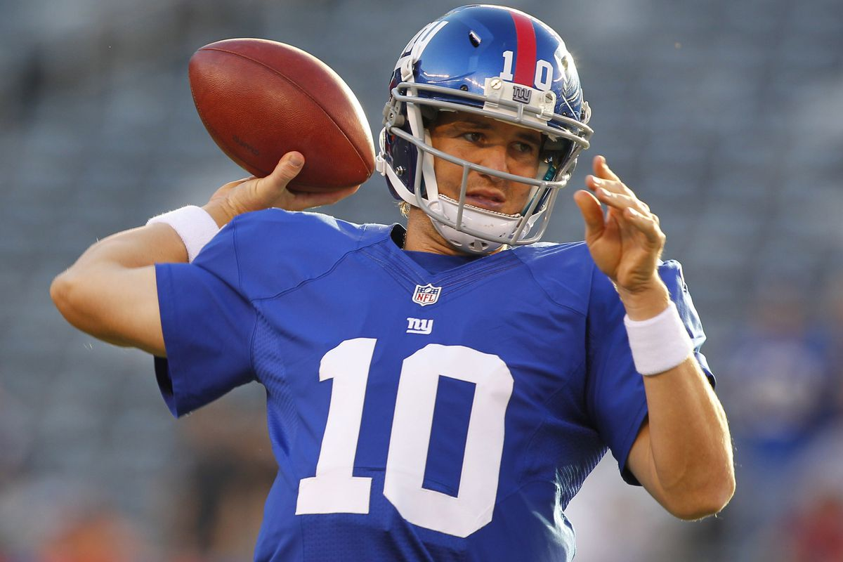 Eli Manning and the New York Giants begin defense of their Super Bowl title Wednesday against the Dallas Cowboys. Jim O'Connor-US PRESSWIRE
