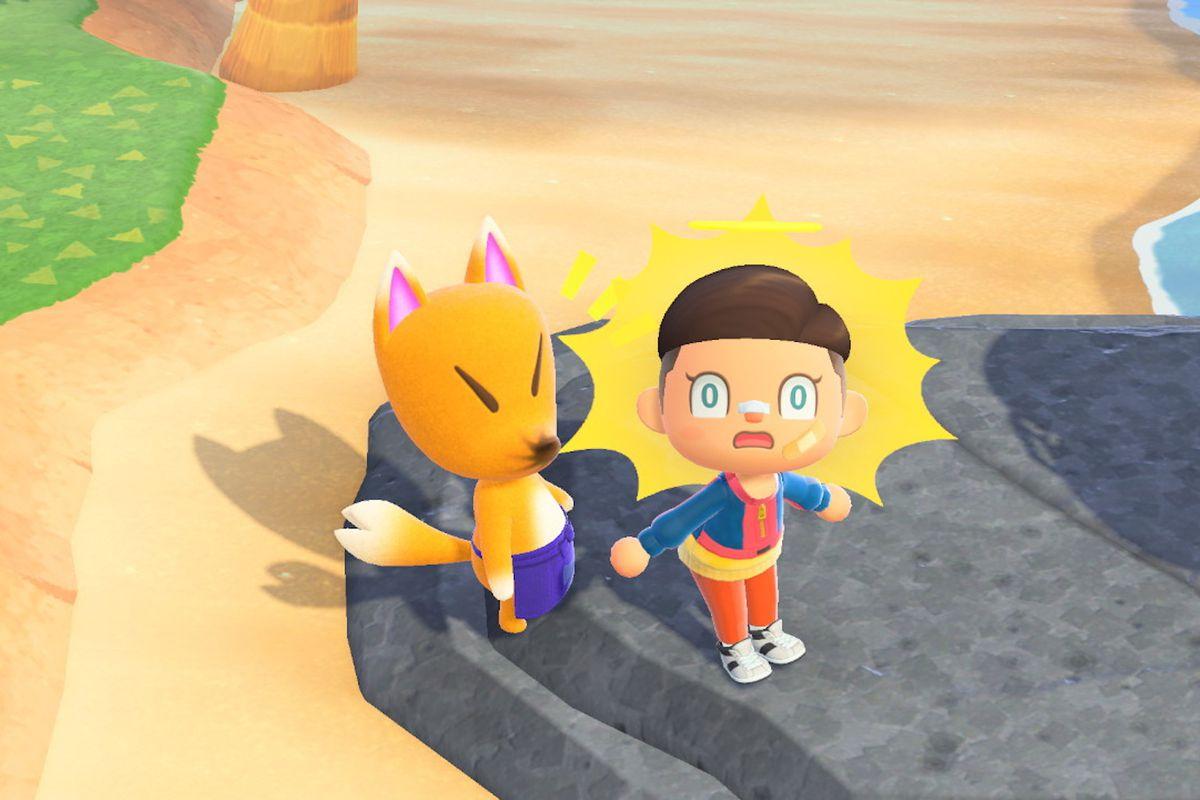 Redd in Animal Crossing: New Horizons.