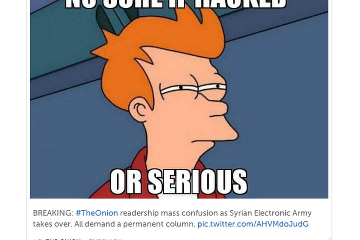The Onion Twitter Hack Twists Satire Into Reality And Back Again