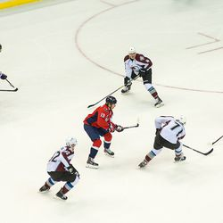 Backstrom and Ovechkin Face an Avalanche of Opposition