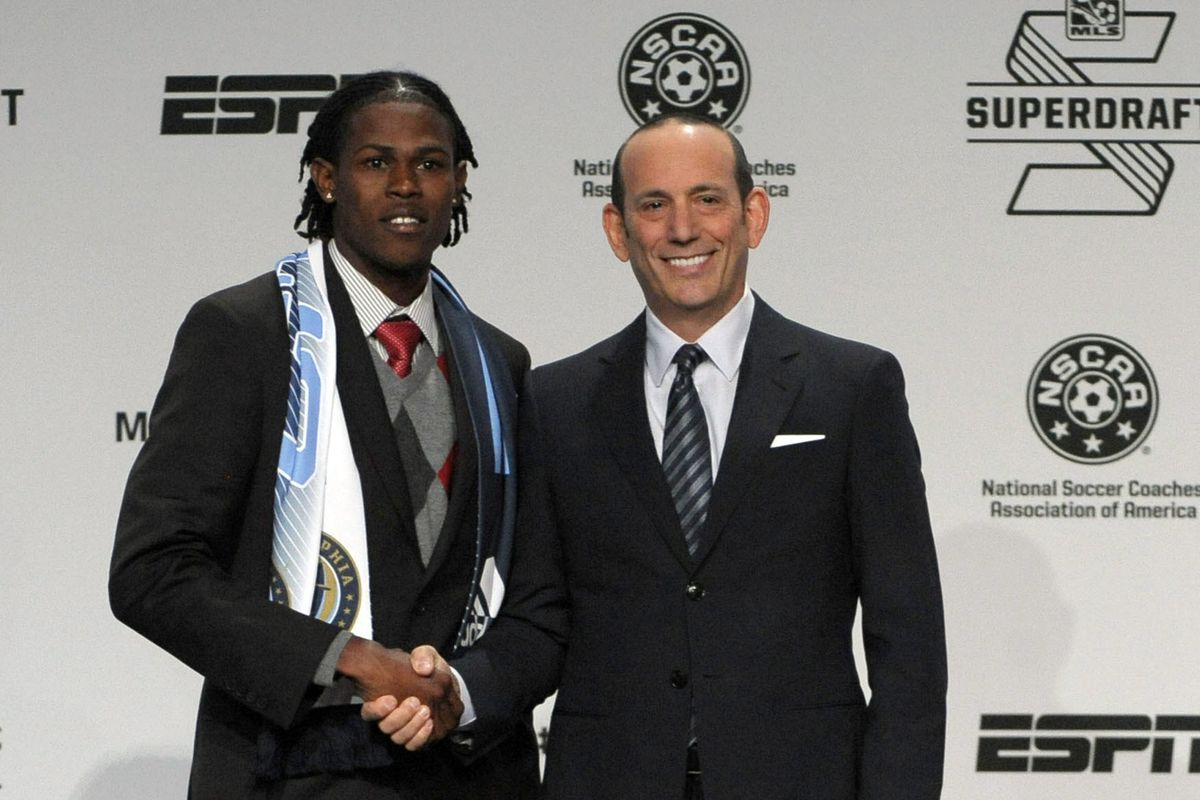 1st overall pick Andre Blake
