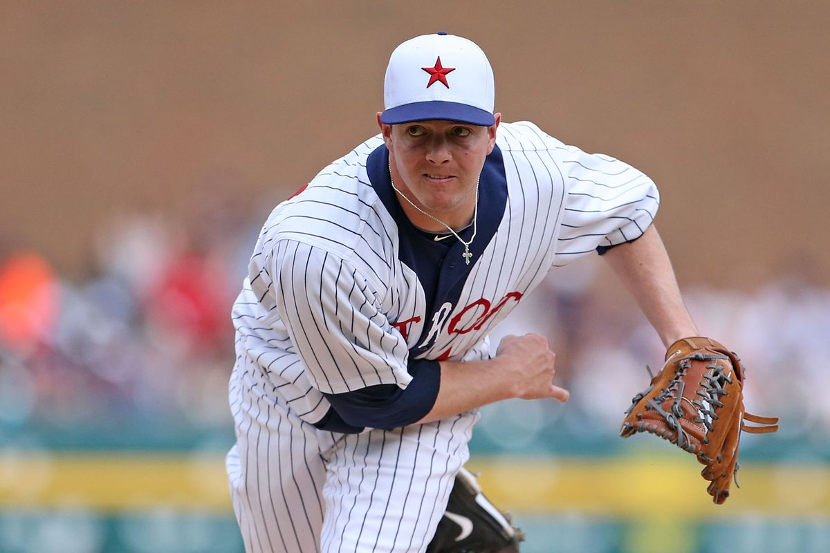 Brewers right handed pitcher Corey Knebel.