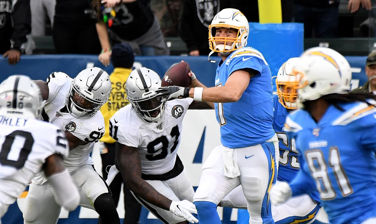 Oakland Raiders v. Los Angeles Chargers