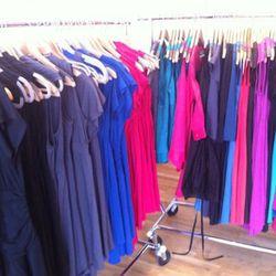 The rainbow of dresses