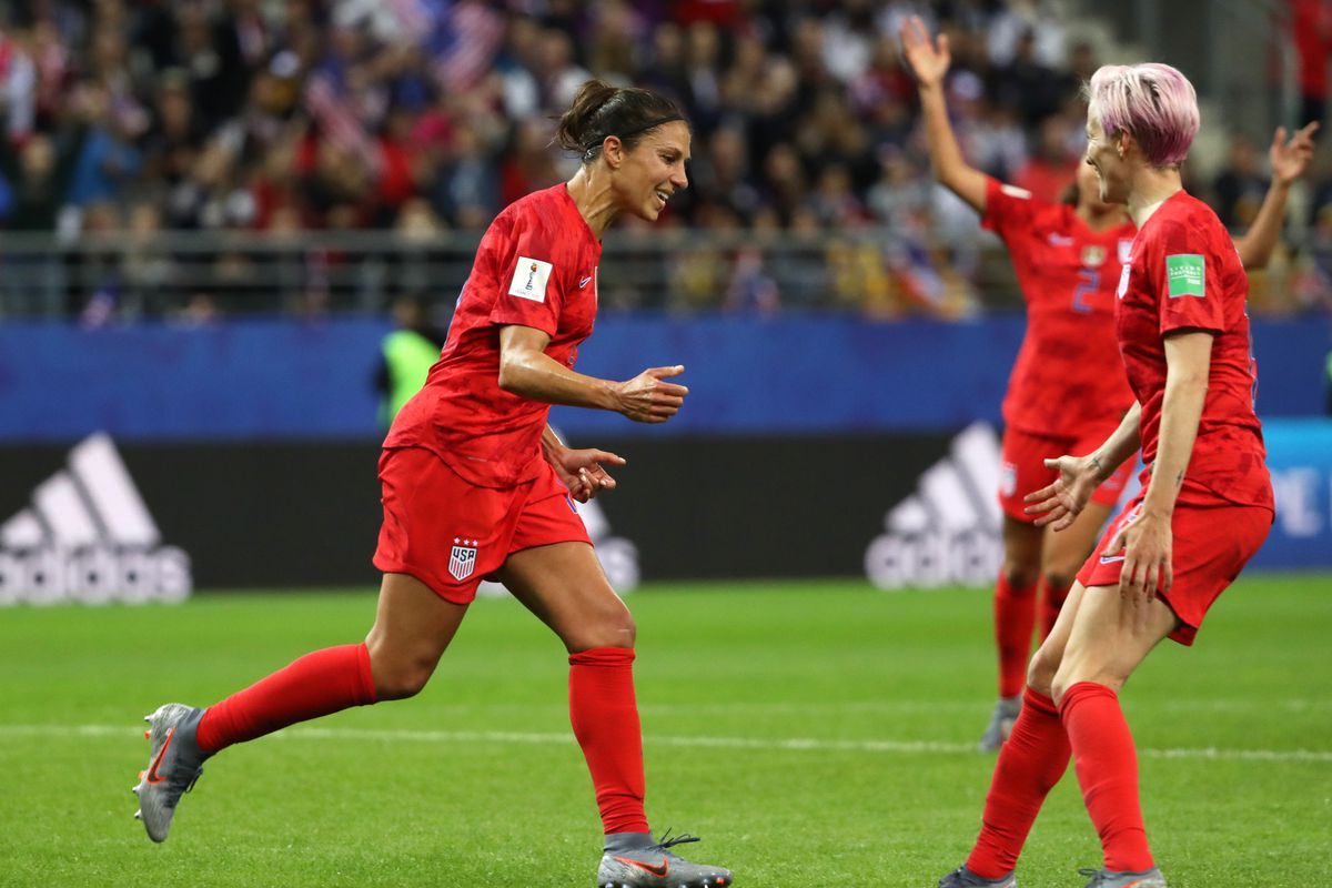 27bc41856 How the US women's soccer team 13-0 World Cup win against Thailand became  about pay equity
