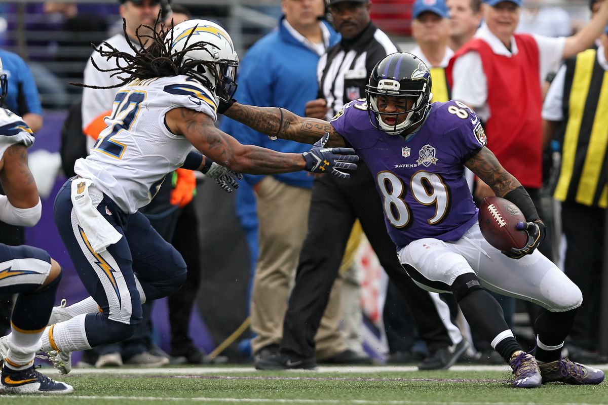 San Diego Chargers v Baltimore Ravens
