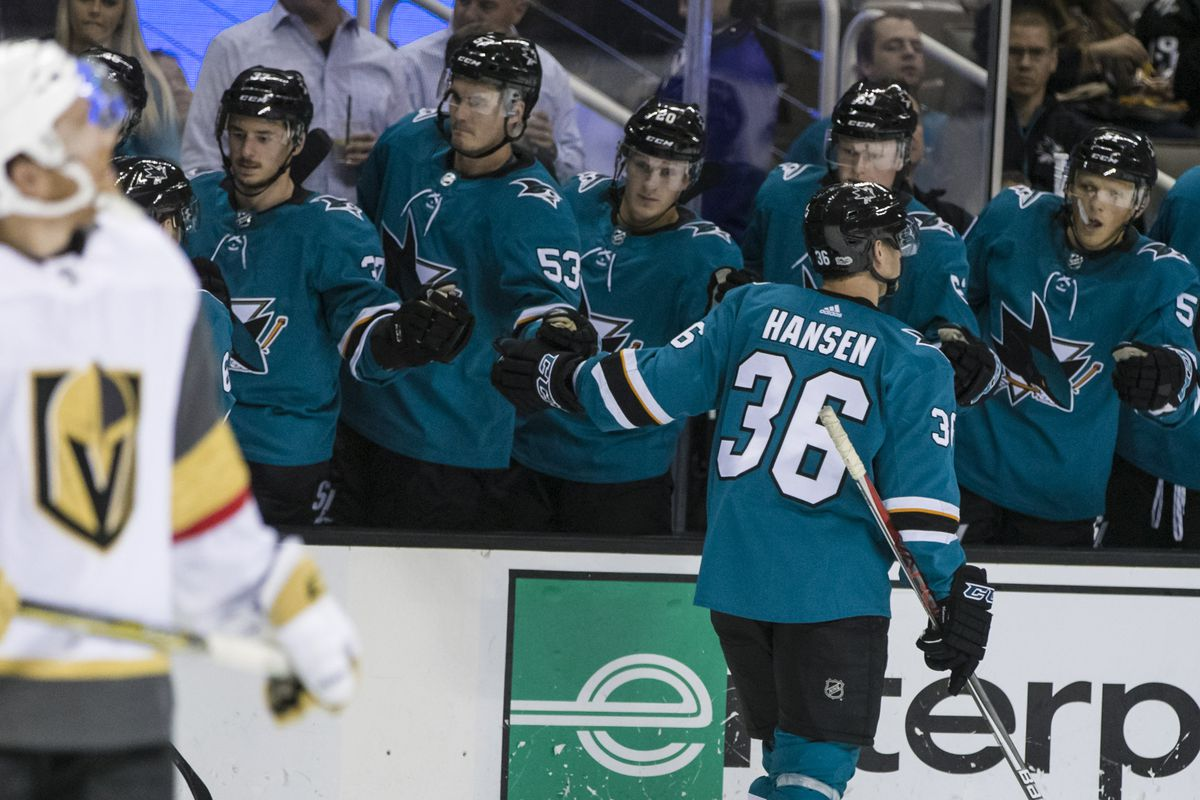 NHL: Preseason-Vegas Golden Knights at San Jose Sharks